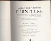 English and American Furniture 17th-19th century by Herbert Cescinsky George Hunter Garden city hardcover 1929