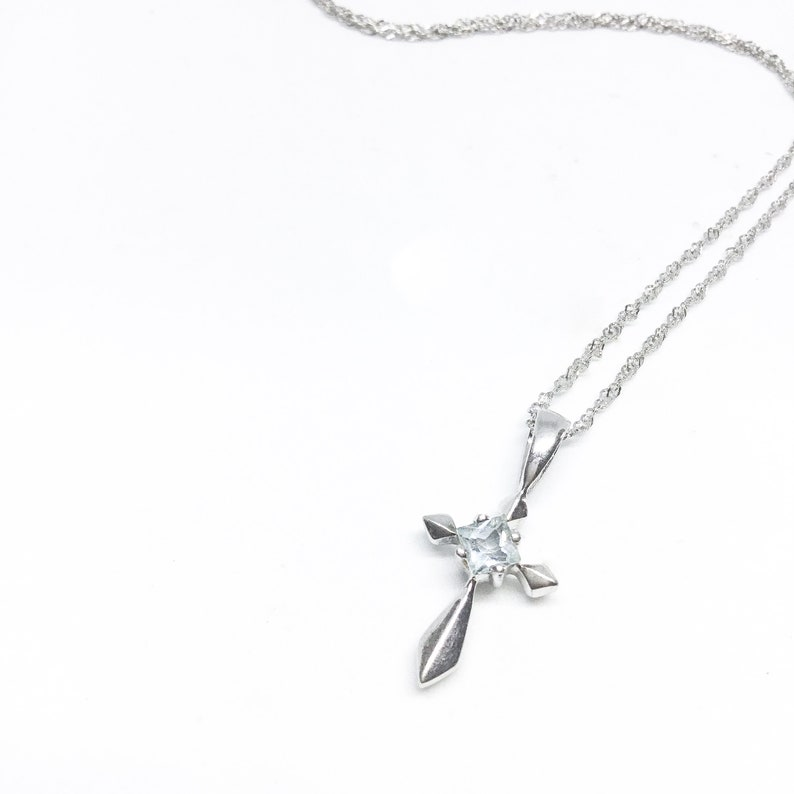 Pendant Blest Jewellery Cubic Zirconia With 925 Silver,18 Inches 925 Silver Chain\u00a0