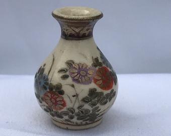 """Dollhouse Miniature 1"""" Scale Style Porcelain Vase"""