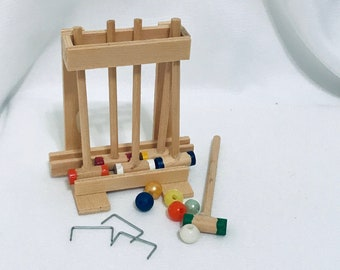 Croquet Set 2 x 2.1875 inches Timeless Minis™