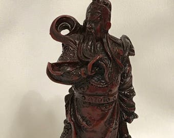 """Dollhouse Miniature 1"""" Scale Chinese Old Man Statue"""