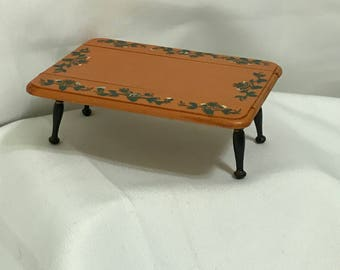 """Dollhouse Miniature 1"""" Scale Dining Table"""