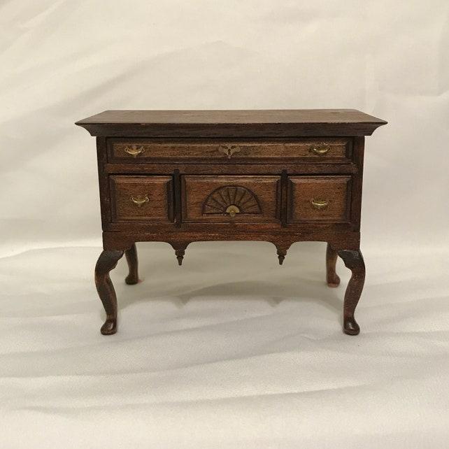Merveilleux Dollhouse Miniature 1 Scale Lowboy Cabinet | Etsy
