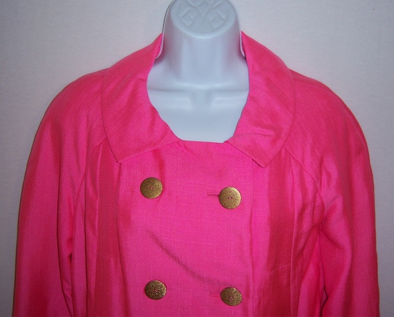 Vintage Christian Dior Diorling Hot Pink Fuschia C