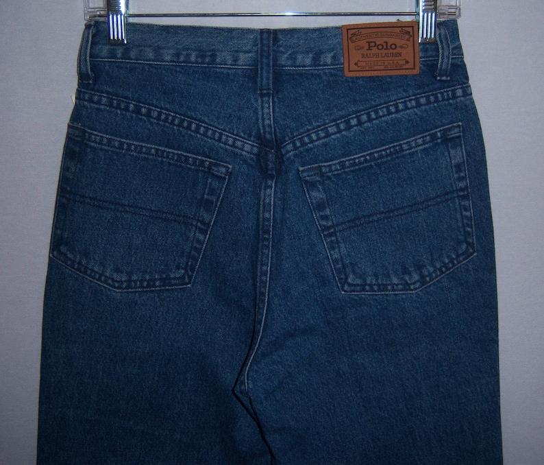 116c3845c3782 Vintage Polo Ralph Lauren Authentic Dungarees Blue Denim | Etsy
