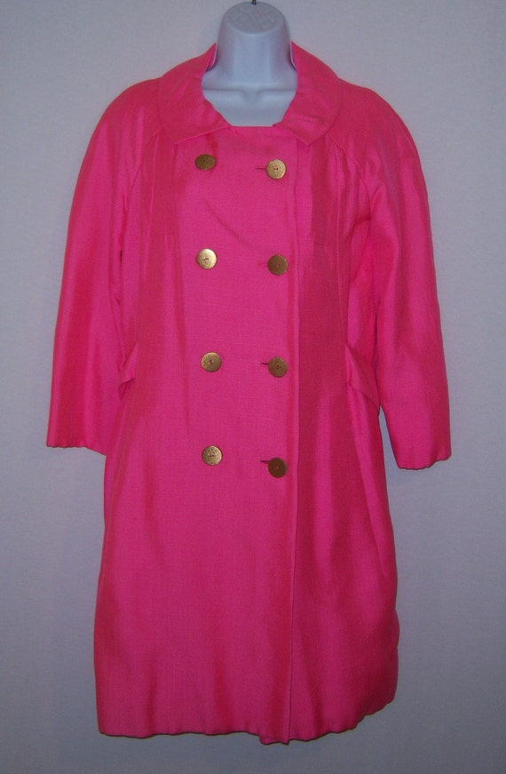Vintage Christian Dior Diorling Hot Pink Fuschia … - image 2