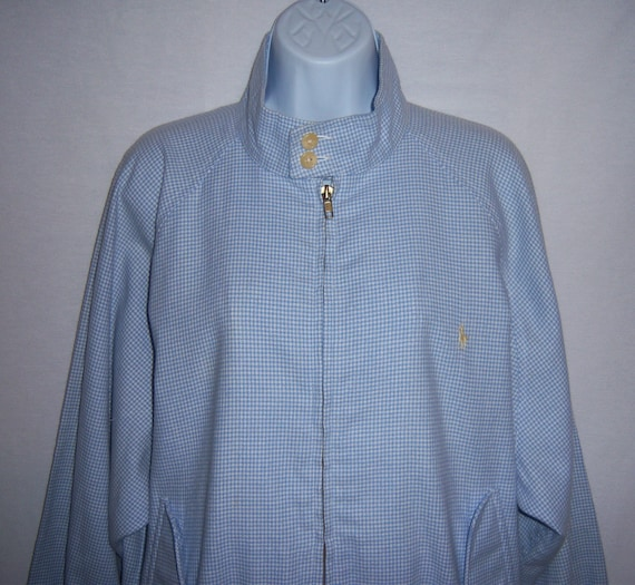 Vintage Polo Ralph Lauren Wedgwood Blue White Soft