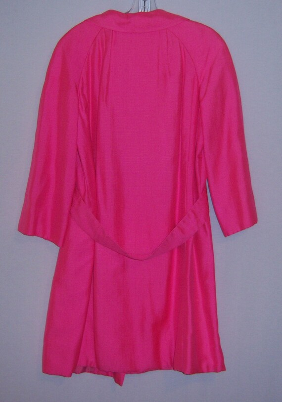 Vintage Christian Dior Diorling Hot Pink Fuschia … - image 3