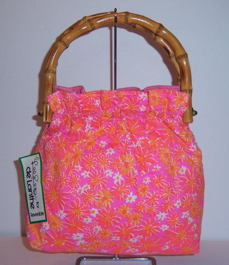 ff4123fc3787 Vintage Lilly Pulitzer The Lilly De Lanthe Pink Orange White