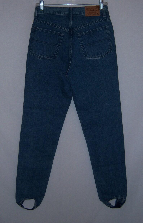 51d9bfa2 Vintage Polo Ralph Lauren Authentic Dungarees Blue Denim | Etsy