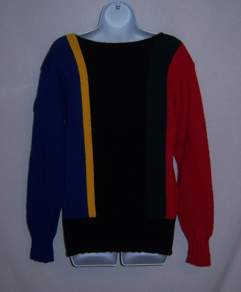 3150e2fa4384 Vintage Polo Ralph Lauren Royal Blue Red Black Green Striped