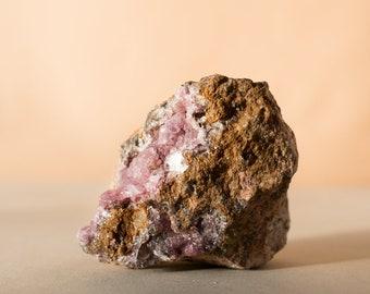 Cobalto Calcite Cluster 526g Lavender Color