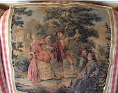 French Country Provence Aubusson Tapestry