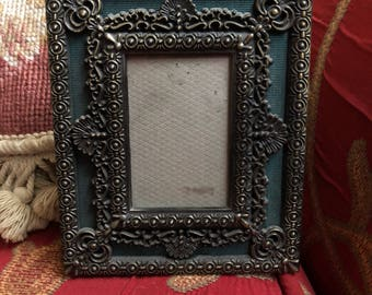 French Country Moire ornate picture frame