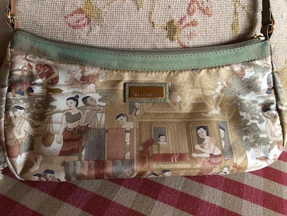 Jim Thompson Asian mini Bag Thai Silk Purse