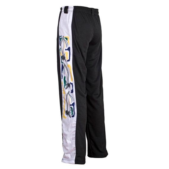 Unisex Negro Azul Brasil Capoeira Artes Marciales Abada El/ástico Pantalones 5 Tallas