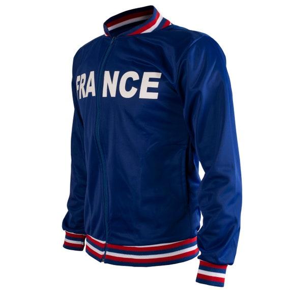 Poland Polska 1980/'s Jacket Retro Football Tracksuit Zipped Jacket Men Top