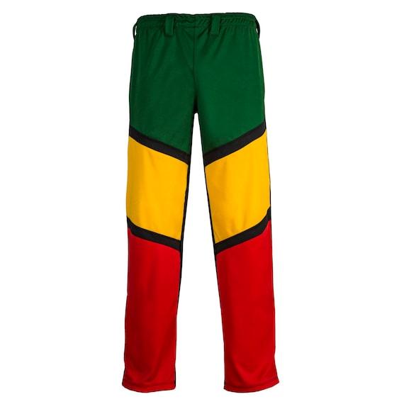 Jamaican Reggae Brazilian Capoeira Martial Arts Sport Pants Childrens Black