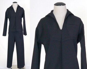 fe5c53beaa7e Vintage Vietnam War U.S. Navy UnDress Blue Service Uniform - USS Oriskany -  Sailor Cracker Jack Uniform - Petty Officer Third Class - 1968