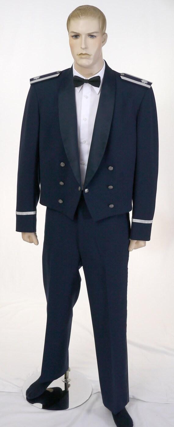 Vintage USAF Men's Mess Dress Uniform - Cropped J… - image 6