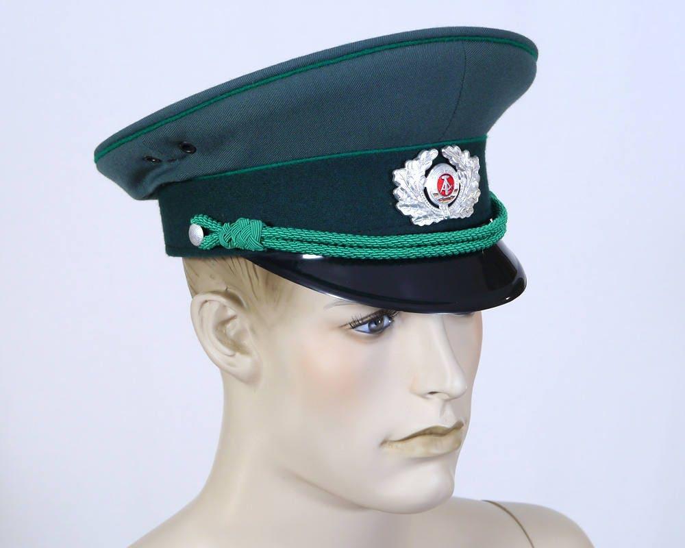 8c6db3dc22244 Vintage Men s East German Army Uniform Cap Peaked
