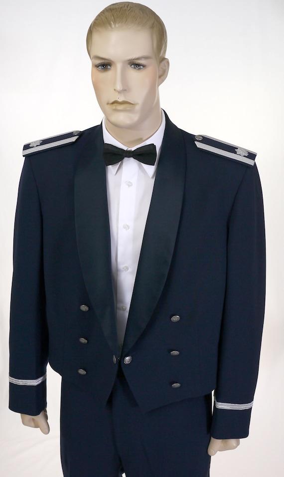 Vintage USAF Men's Mess Dress Uniform - Cropped J… - image 2