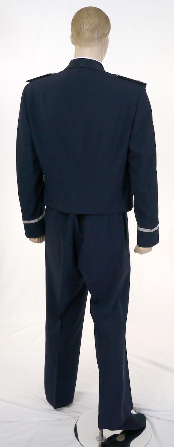 Vintage USAF Men's Mess Dress Uniform - Cropped J… - image 4