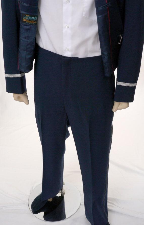 Vintage USAF Men's Mess Dress Uniform - Cropped J… - image 9