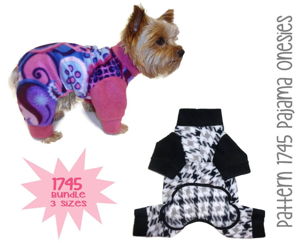 Dog Pajama Pattern Custom Decorating Ideas