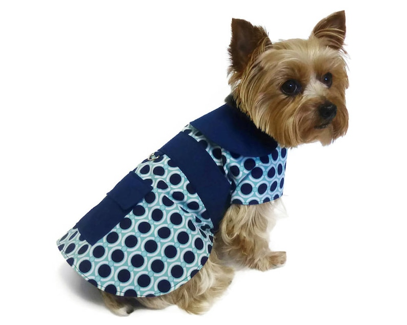 Dog Clothes Dog Coats Dog Rain Jacket Dog Raincoat Pattern 1543 XXLg Dog Coat Pattern Dog Jackets Dog Apparel Dog Clothing