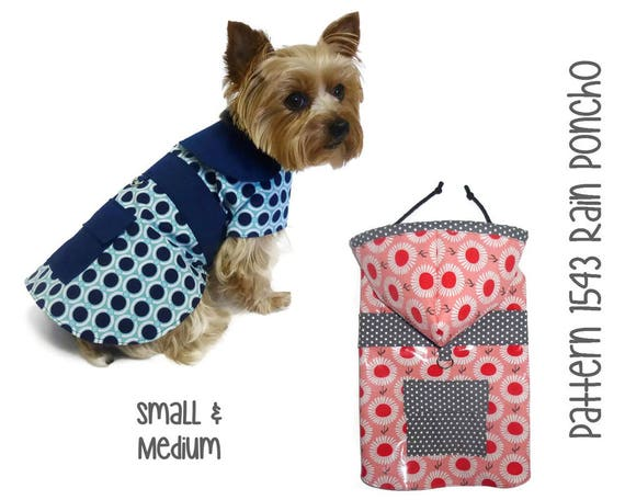 dog raincoat pattern