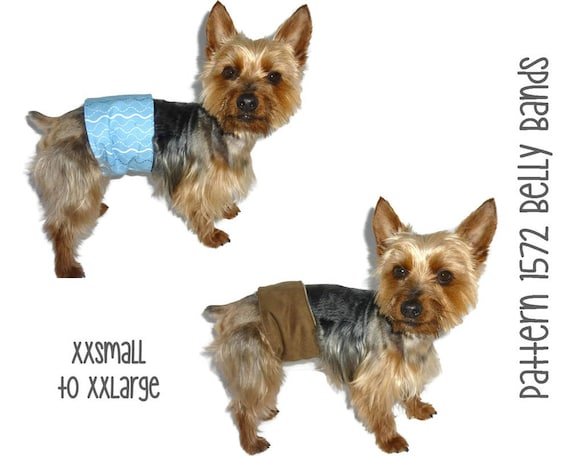 Dog Belly Band Pattern 1572 Male Dog Diapers Pet Diapers Etsy