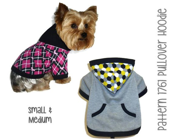 Dog Hoodie Pattern 40 Dog Clothes Patterns Dog Jackets Etsy Cool Dog Hoodie Pattern
