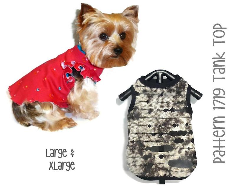422b605d3938 Dog Tank Top Pattern 1719 Dog Shirts Dog Tank Top Dog | Etsy