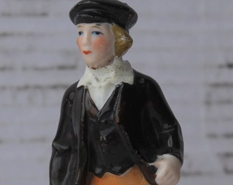 """Vintage OLIVER TWIST -  Made in Germany Porcelain Figurine - 4.25"""" Tall - Collectible Realistic Hand Painted 9983"""