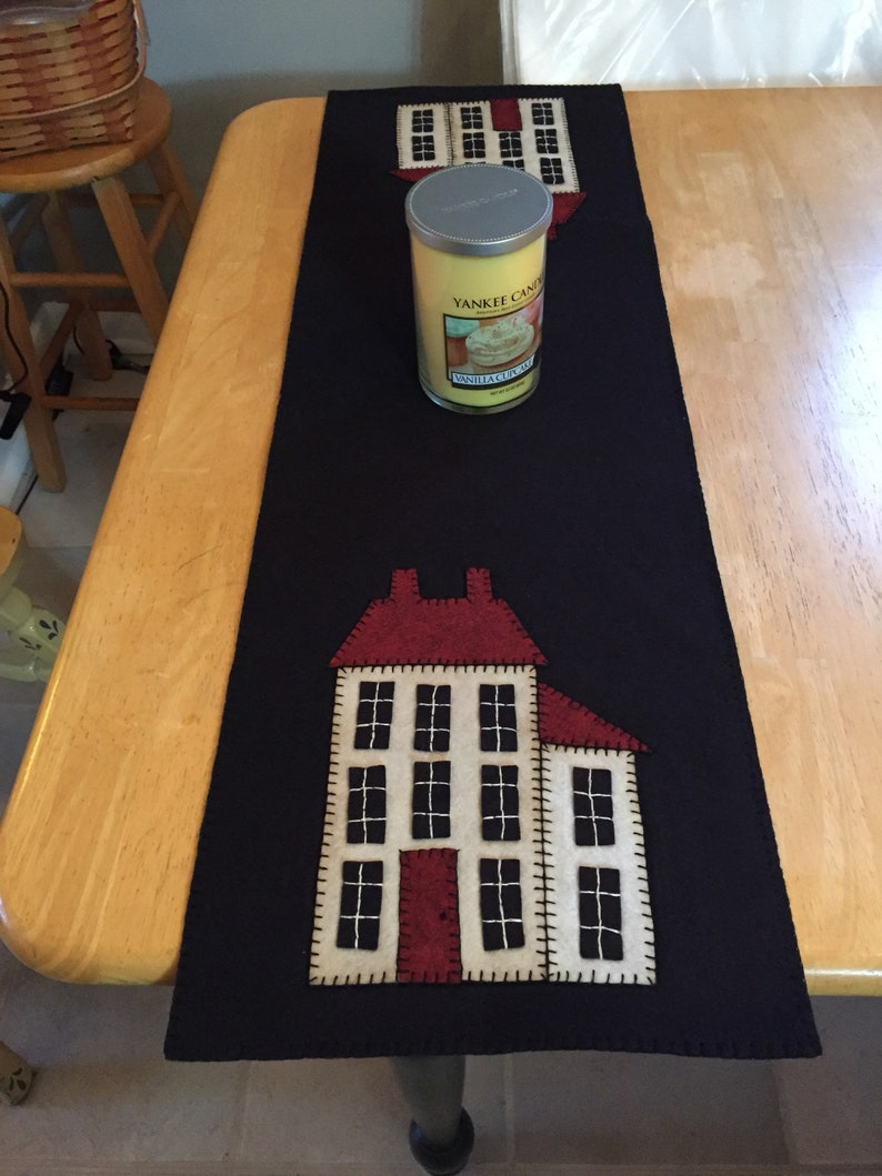 Cool House Table Runner Measuring 12X36 Inches Download Free Architecture Designs Intelgarnamadebymaigaardcom