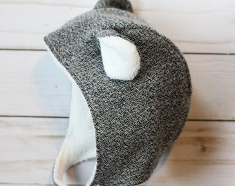 Mouse hat for infants, toddlers, and children