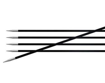 KnitPro Karbonz doble calcetín puntas agujas DPN 20cm de longitud