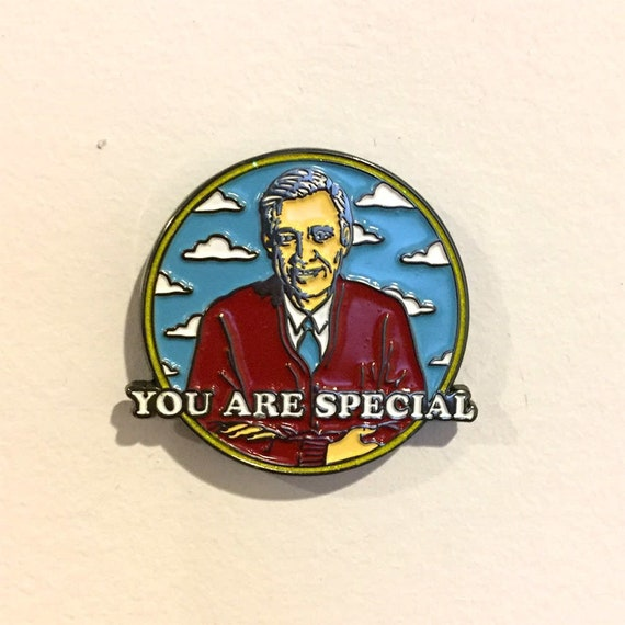 You Are Special Mr Rogers Pin Mister Rogers Etsy