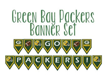 Large Packers Banner Set