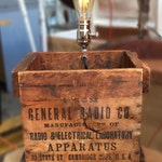 General Radio Compnay Crate With Light