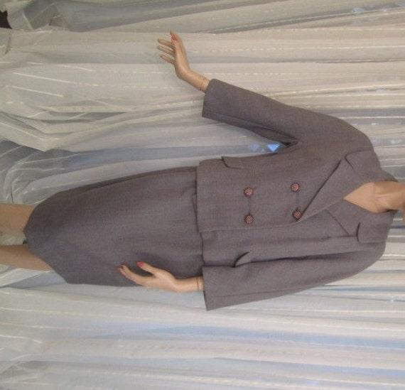 Vintage Grey Wool Suit, Donnybrook Original, ca 19
