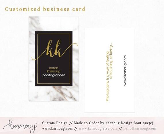 Ajouter Sur Personnalis Carte De Visite Design Photographie Branding
