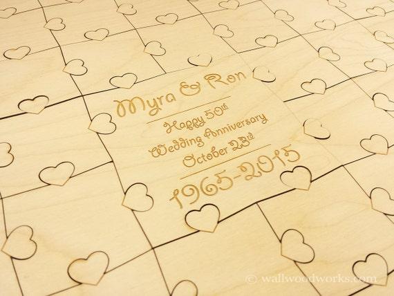 Rustic Monogram Guestbook puzzle 32-400 Piece Wedding for Weddings Laser Cut /& Engraved Wedding Puzzle Guest Book Guest Book Puzzle