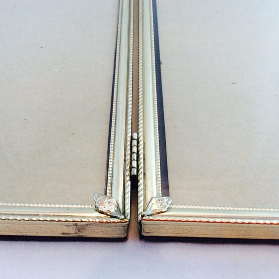 Vintage Double Picture Frames 8 x 10 Gold Metal / Gold Tone 8   Etsy