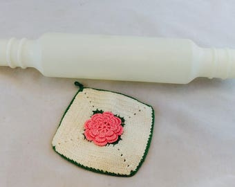 Vintage Tupperware Rolling Pin, Tupperware Fill and Chill Rolling Pin
