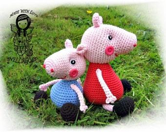 Peppa Pig - free crochet pattern - Amigurumi Today | 270x340