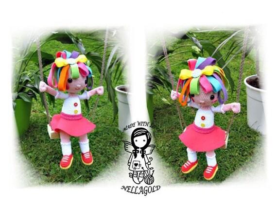Häkeln Häkeln Puppe Muster Alles Ist Rosie 3d Spielzeug Etsy