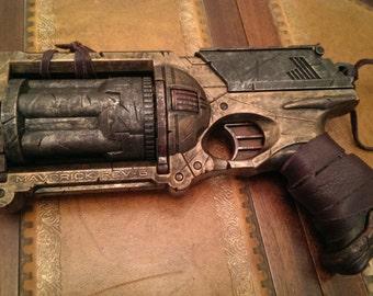 STEAMPUNK gun, Nerf Maverick toy gun ! For cosplay