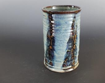 Hand Thrown Pottery Vase, Ceramic Vase, Flower Vase, Rustic, Handmade